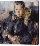 1910 Nikolay Feshin Canvas Print