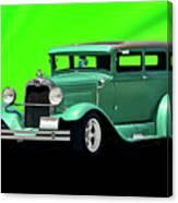 1930 Ford Tudor Sedan Canvas Print