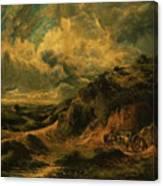 A Heath Painting Painted Originally Canvas Print