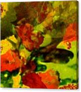 Abstract Landscape, Fall Theme Canvas Print