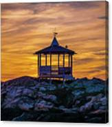 After Sunset Canvas Print