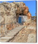Agioi Saranta Cave Church - Cyprus Canvas Print