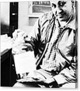 Albert Ghiorso, American Nuclear Chemist Canvas Print