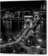 An Evening In Budapest Canvas Print