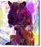 Animal Attractive Beautiful Brown  Canvas Print