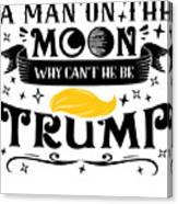 Anti Trump Impeach The President Vote For Dems Light Canvas Print