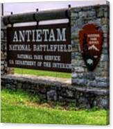 Antietam Battlefield National Park  Canvas Print