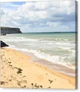 Arromanches Beach Canvas Print