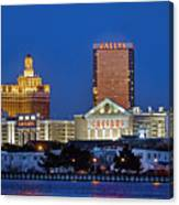 Atlantic City Skyline Canvas Print