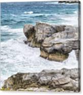 Atlantic Coastline In Bahamas Canvas Print