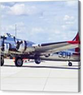 B-17 Bomber 5 Canvas Print