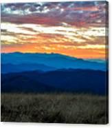 Bald Mountain Sunset Canvas Print