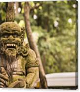 Bali Sculptures Canvas Print
