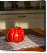 Beef Heart Tomato Canvas Print