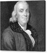 Benjamin Franklin (1706-1790) Canvas Print