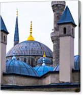 Blue Mosque-- Sultan Ahmed Mosque Canvas Print