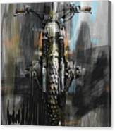 Bmw Motorcycle Canvas Print