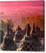 Borobudor Temple Canvas Print
