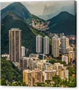 Brasil Rio De Janeiro Canvas Print