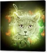 British Shorthair Cat Canvas Print
