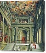 Buckingham House Canvas Print