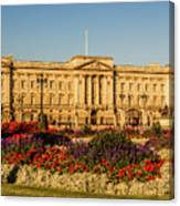 Buckingham Palace, London, Uk. Canvas Print