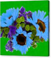 Bunch Of Pretty Flowers Canvas Print