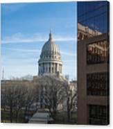 Capitol - Madison - Wisconsin Canvas Print