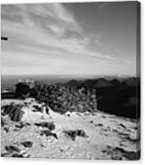 Carrauntoohil Summit Canvas Print