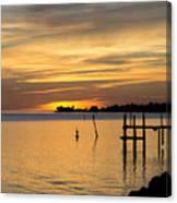 Cedar Key Sunset Canvas Print