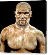 Champion Boxer And Actor Mike Tyson Canvas Print
