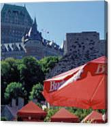 Chateau Frontenac In Quebec City Canvas Print