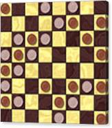 Checkerboard Generated Seamless Texture Canvas Print