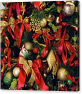 Christmas Holiday Tree Canvas Print