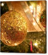 Christmas Tree Decorations Canvas Print