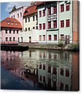 City Of Bydgoszcz In Poland Canvas Print