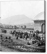 Civil War: Prisoners, 1864 Canvas Print