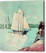 Clear Sailing Canvas Print