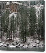 Clearwater River Canvas Print