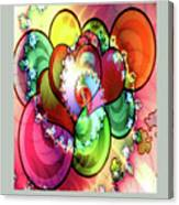 Colors Of Love Canvas Print
