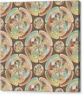 Complex Geometric Pattern Canvas Print