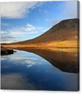 Connemara Lake Reflection Canvas Print