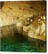 Crystal Cave In Hamilton Parish Bermuda Canvas Print