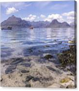 Cuillin Mountains From Elgol Canvas Print
