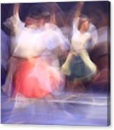 Dancers In Motion  Canvas Print