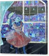 Dansarinas Canvas Print