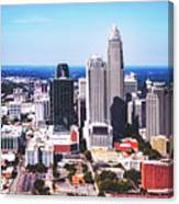 Downtown Charlotte Canvas Print