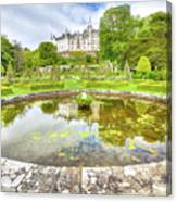 Dunrobin Castle Reflected Canvas Print