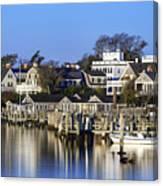 Edgartown Harbor Canvas Print