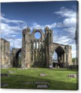 Elgin Cathedral Canvas Print